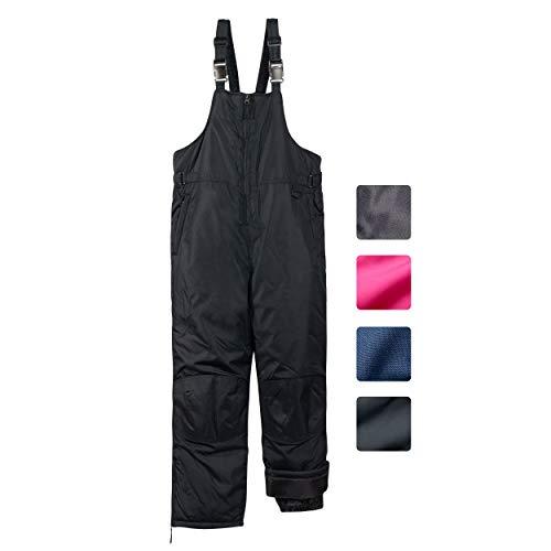 Jingle Bongala Boys Girls Waterproof Hiking Pants Outdoor Winter Ski Pants Fleece Lined