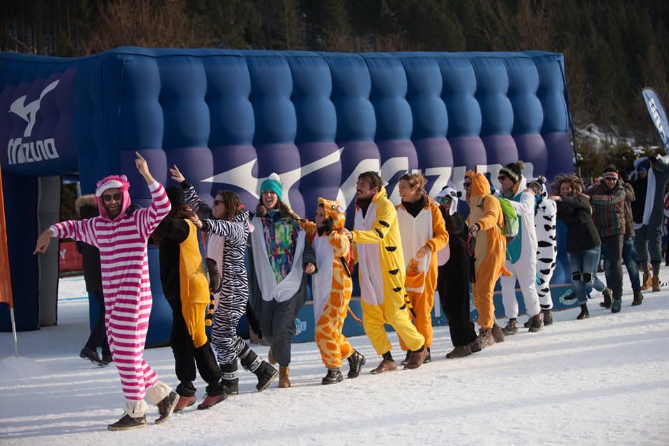 Marathon Moena Snow Volley