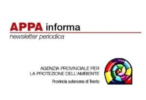 Notizie sulle attività di APPA Trento: è online il numero 7 di  Marzo 2019