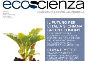 Green economy, clima e meteo, qualità dell'aria in Ecoscienza 6/2018