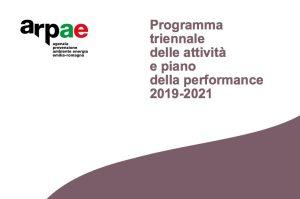 Il programma delle attività e il piano performance 2019-2021 di Arpae