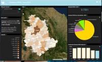 Versione cartografica per l'inventario delle emissioni in atmosfera dell'Umbria