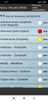 Nuove funzioni dell'app di Arpa Toscana pensate per aiutare chi soffre di allergia
