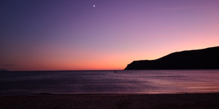 Quiete al tramonto