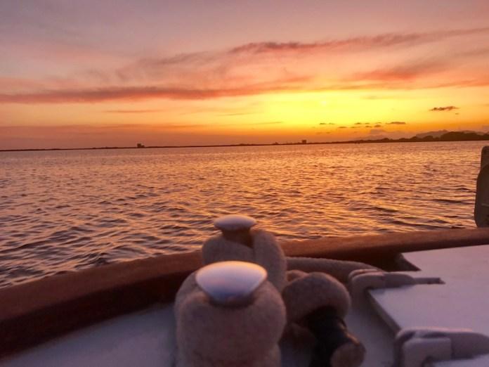 Le mille sfumature di un tramonto a Marsala