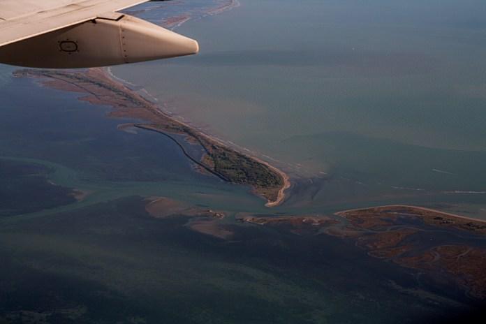 Laguna di Grado e Marano: bocca e isola di S. Andrea