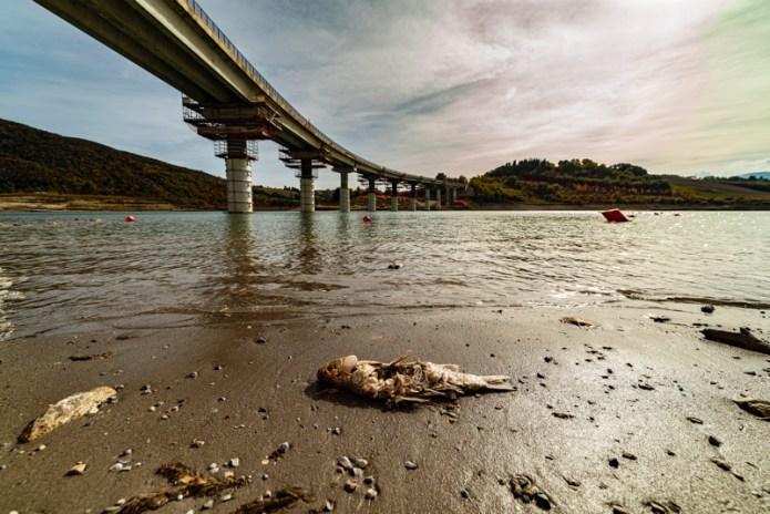 emergenza idrica - diga di Castreccioni