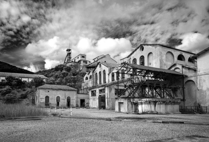 Vecchio sito minerario - Montevecchio