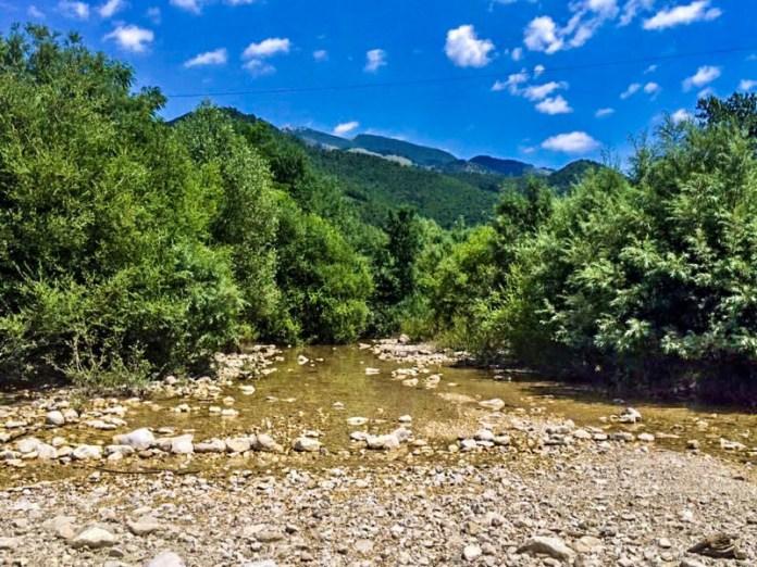 L'azione geomorfologica del fiume: la deposizione.