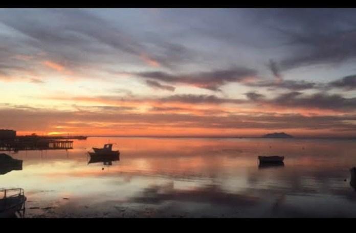 Nubi al tramonto di Marsala