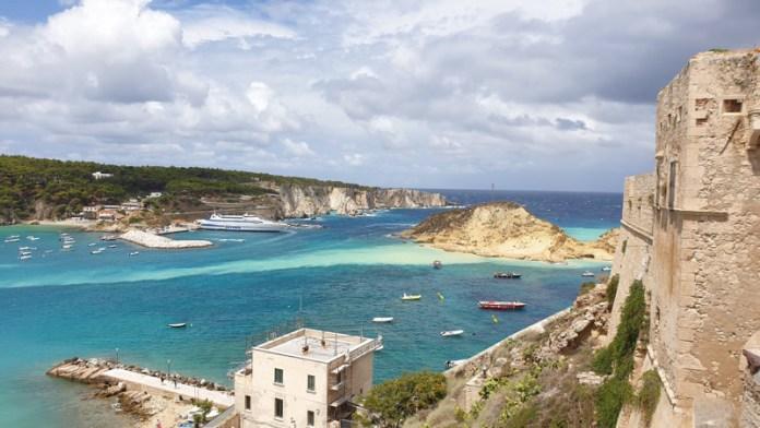 """Fenomeno Erosivo del 5 Agosto 2020 - """"Isola Cretaccio"""" - Isole Tremiti"""
