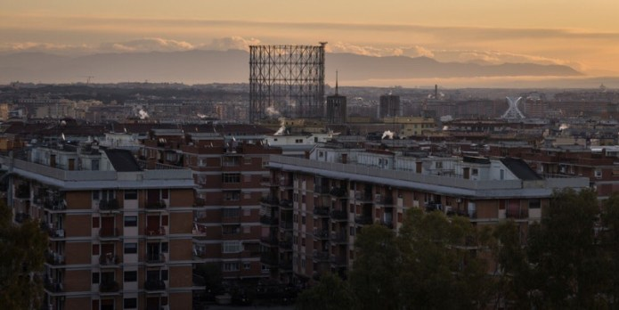 Skyline romano