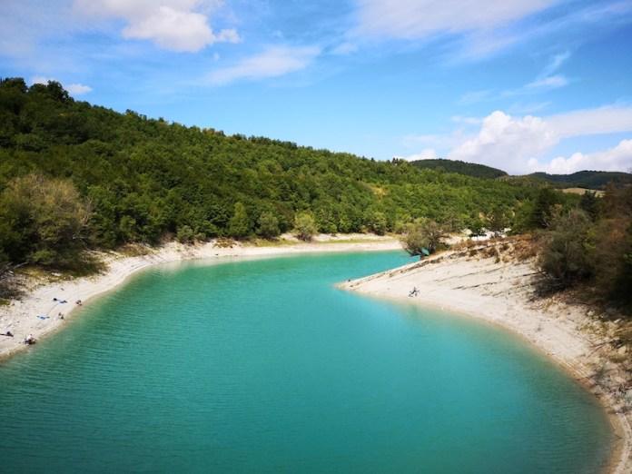 I caraibi dei sibillini - Lago di Fiastra