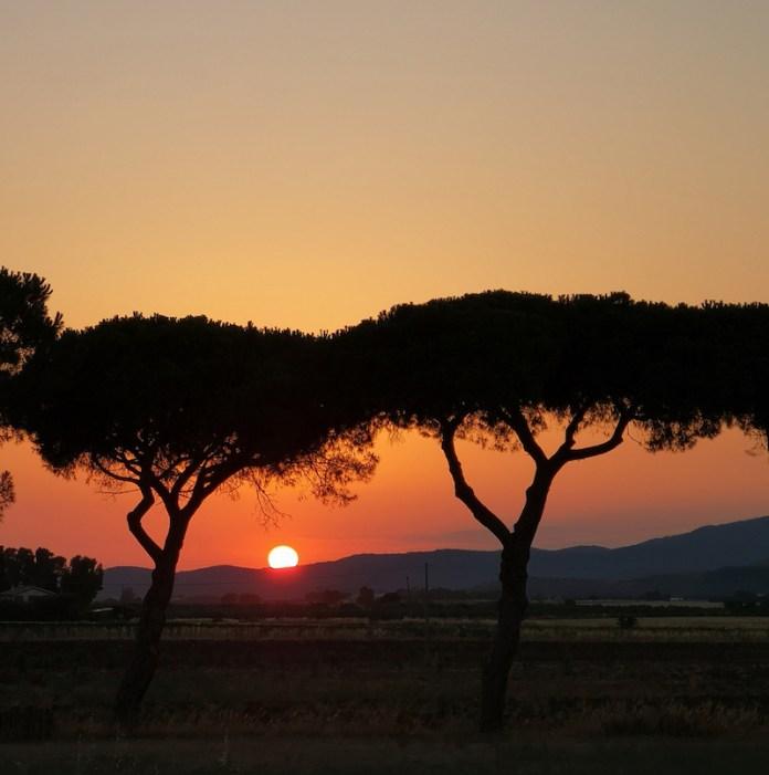 Capalbio tramonto