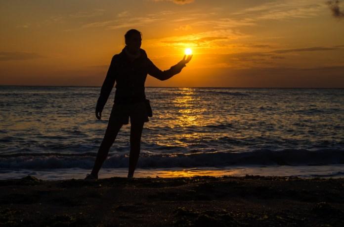 Il sole tra le mani