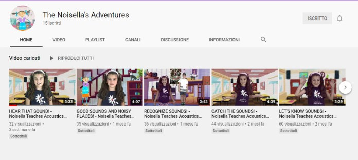 The Noisella's Adventures - Canale YouTube ufficiale INAD - Italia