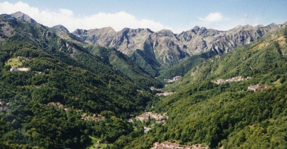 Valle del Cervo (BI) il luogo a più elevata radioattività naturale d'Italia