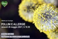 Un webinar di Arpa Umbria per approfondire il tema dei pollini e delle allergie