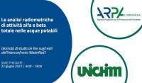 Radioattività nell'acqua, giornata di studio Arpa Lombardia-Unichim