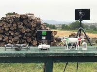 Uso di droni per il monitoraggio ambientale nel Lazio