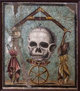 Death mosaic from Herculaneum