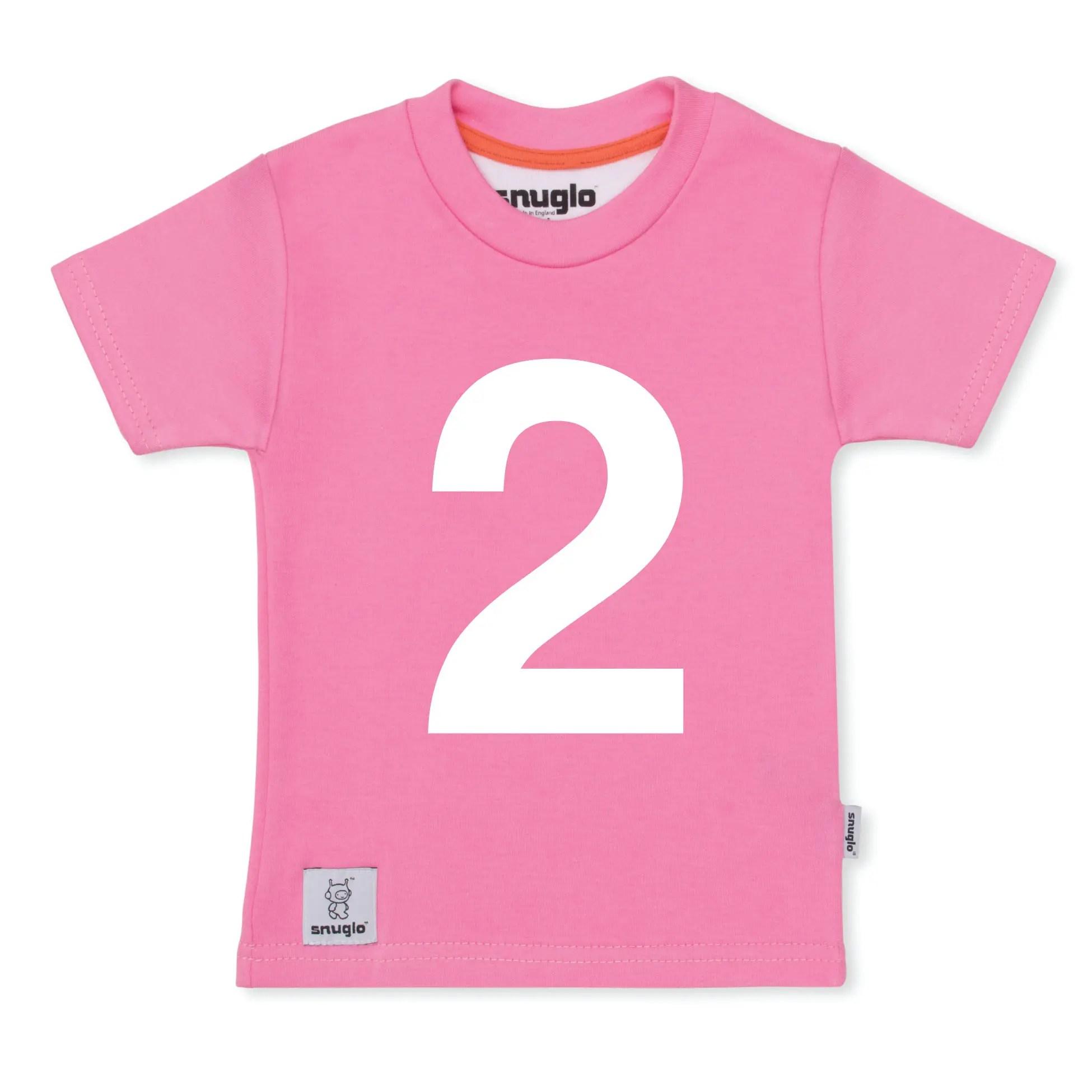 I AM 2 Pink T Shirt Unusual 2nd Birthday Gift Shirts