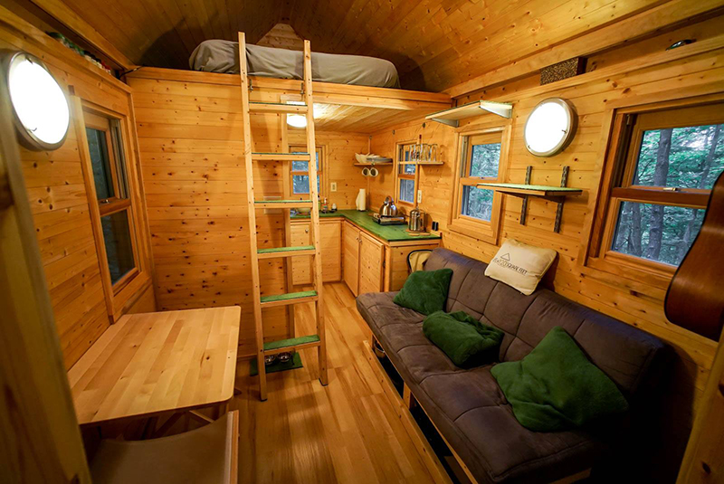 Tiny House Couple Escapes To The Mountains To Build A Home