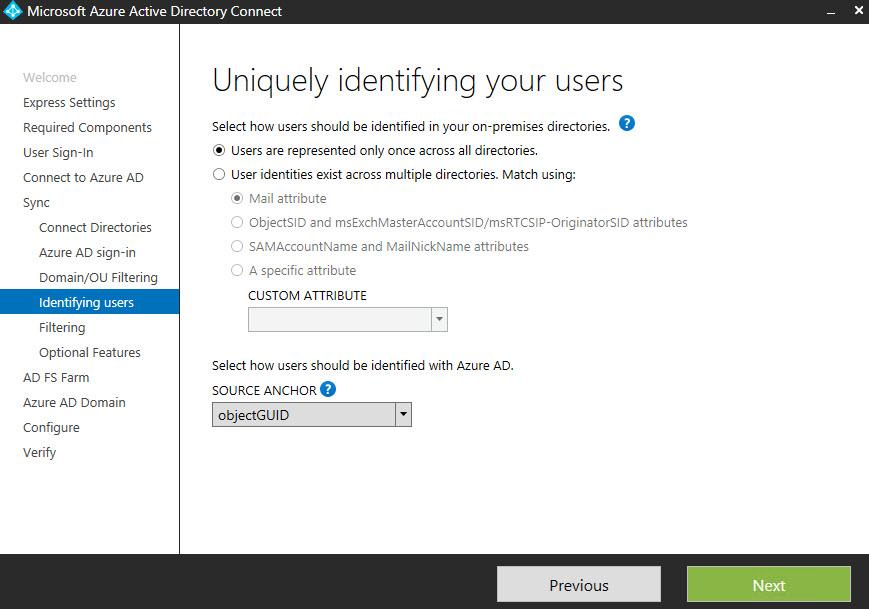 uniquely identify users