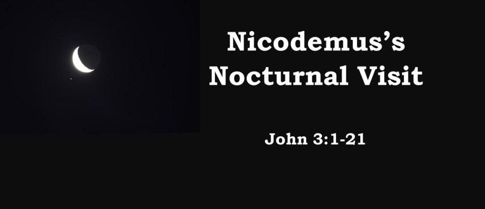 Nicodemus's Nocturnal Visit – John 3:1-21