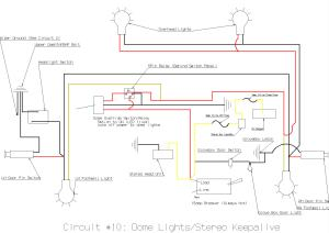 TECH: Dome light circuit Diagram