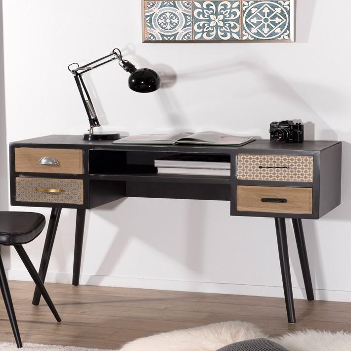 bureau design industriel vintage alta