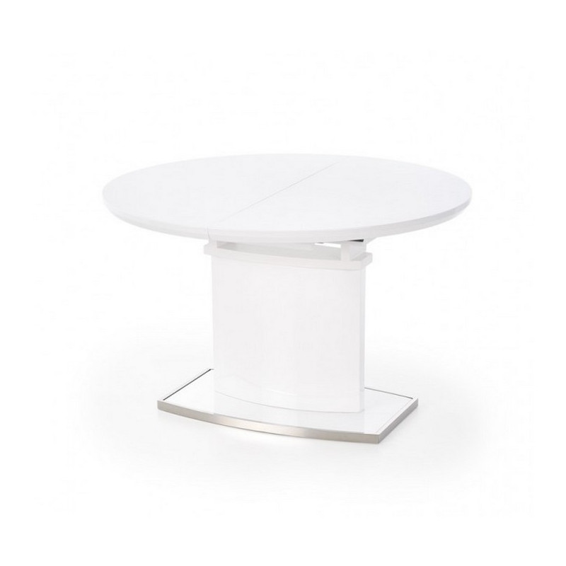 table ronde avec rallonge rico