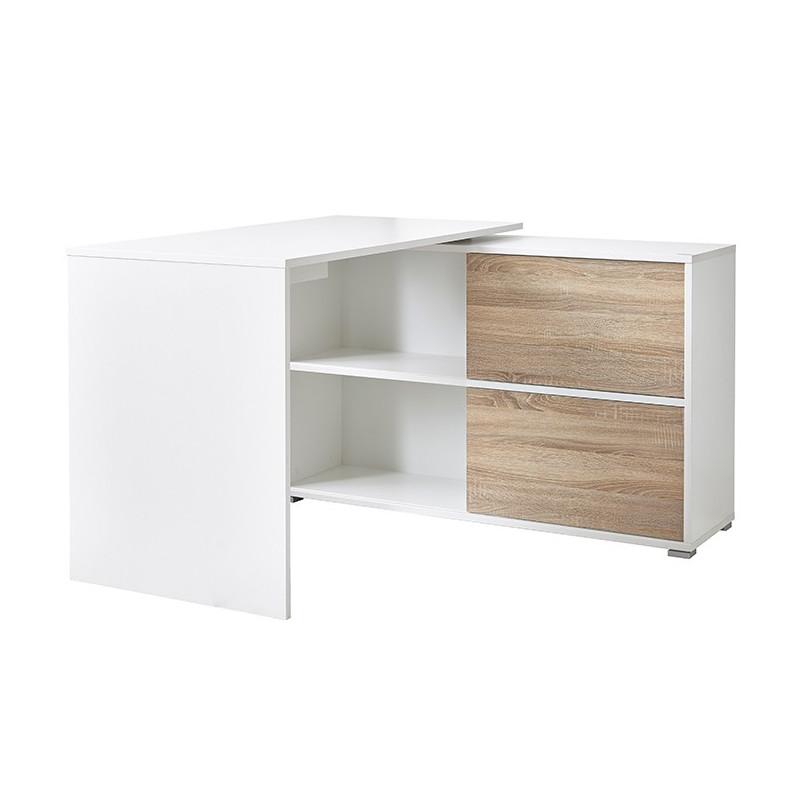 Bureau Dangle Blanc Leader Bureaux Design Noir Et Blanc