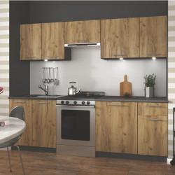 meubles de cuisine design beige clair