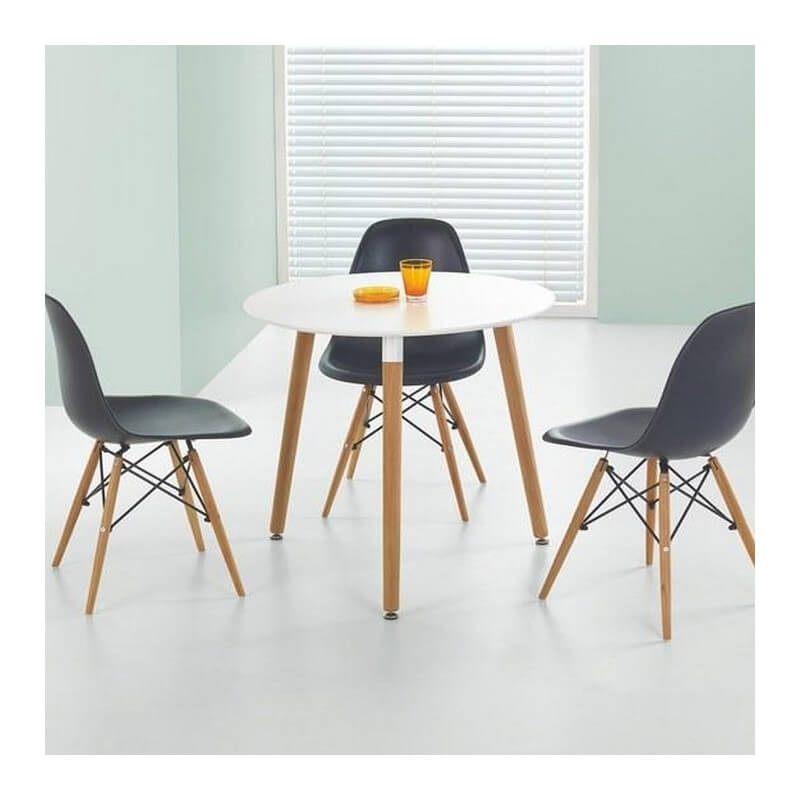 table ronde scandinave stilys
