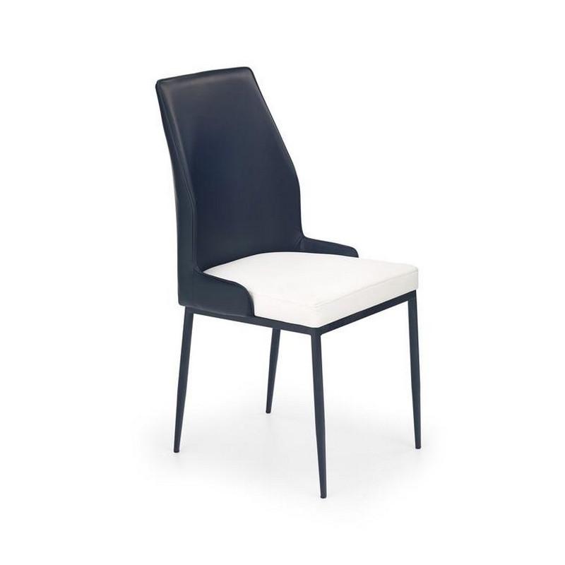 Chaise Moderne Noir Et Blanc Lexon