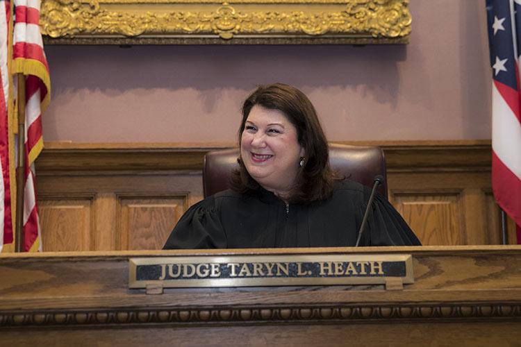 Stark County Common Pleas Judge Taryn Heath.