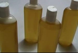 at soapmaking school we make natural shampoo