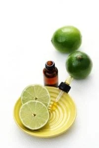 hot process soap making method allows for lime essential oil