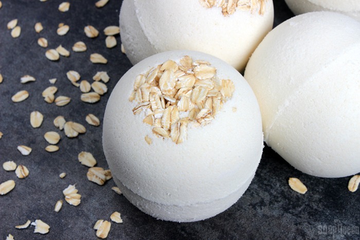 Oatmeal Bath Bombs