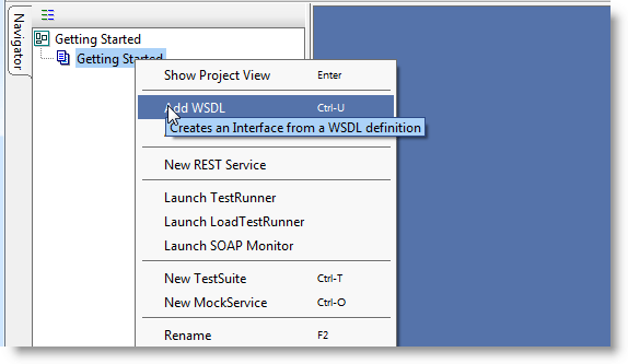 Add WSDL to a Web Service Test Project
