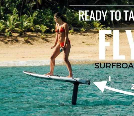 Flying Surfboard: Merasakan Sensasi Baru Bermain Papan Selancar Bermotor Tanpa Menunggu Ombak Datang