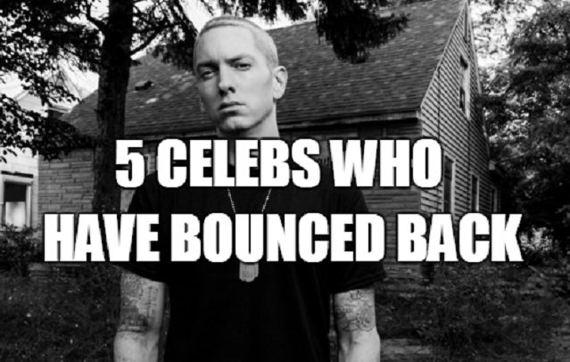 celebrities who have come back from a relapse