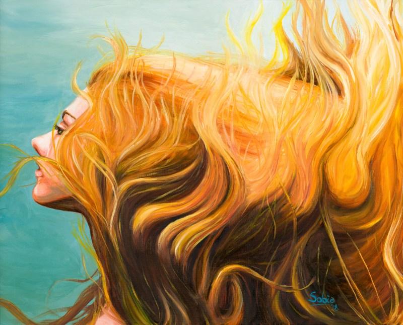 Sobia Shuaib - Breathe 16x20