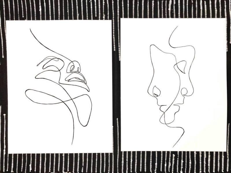 Sobia Shuaib - Line Art 6