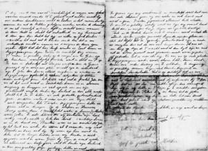 Het bewaard gebleven briefje van Levie Sluijzer