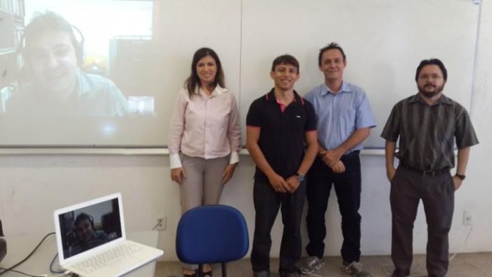 Primeira defesa de mestrado do PPGEEC