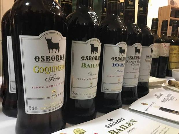 tipos de vino de Jerez