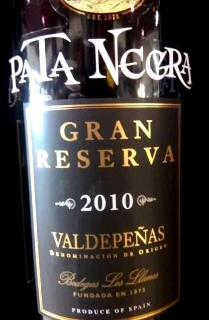 Gran Reserva Pata Negra 2010