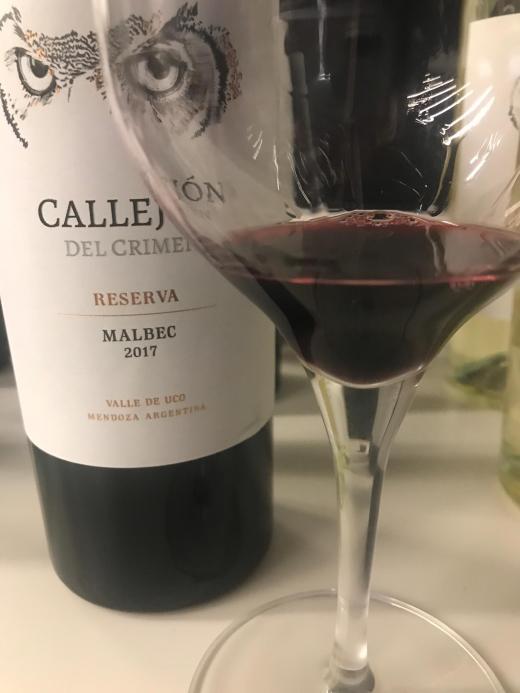 Callejón del Crimen Reserva Malbec 2017